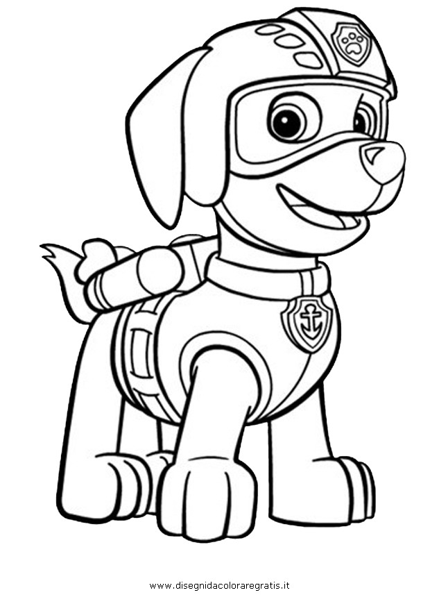 633x860 Paw Patrol Coloring Pages