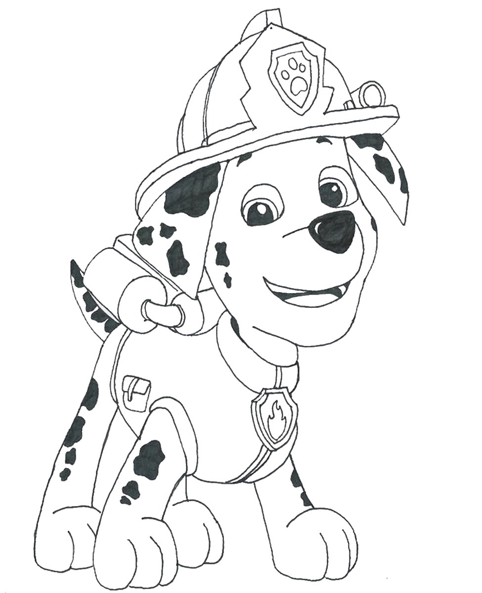 975x1200 Paw Patrol Coloring Pages