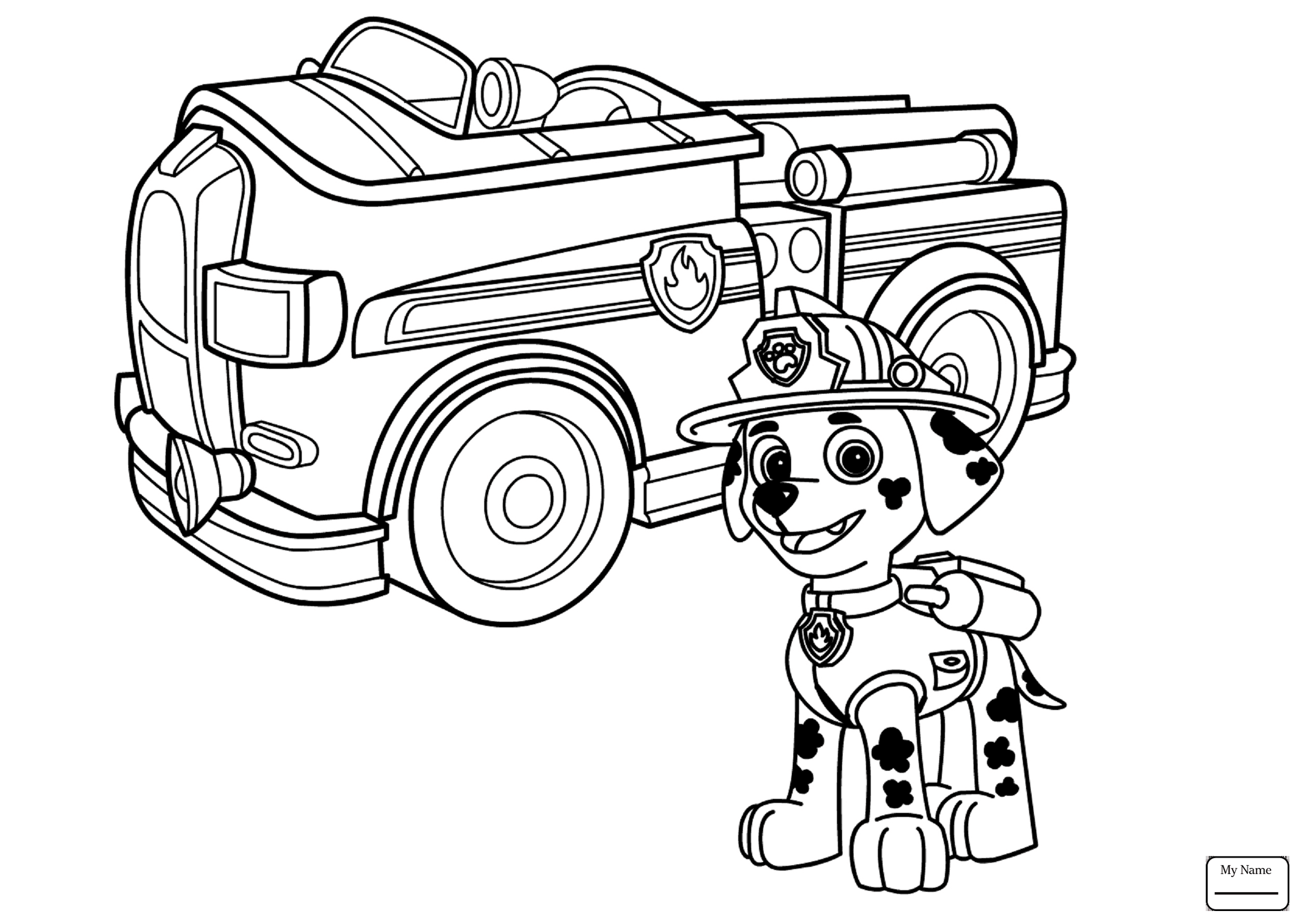 2514x1779 Successful Rubble Paw Patrol Coloring Page Und