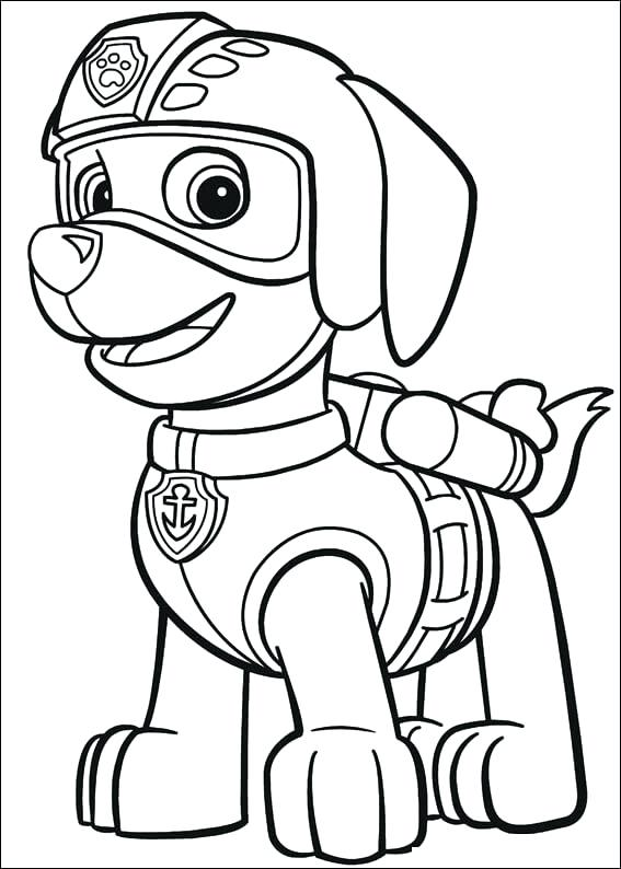 567x794 Paw Patrol Coloring Book Target