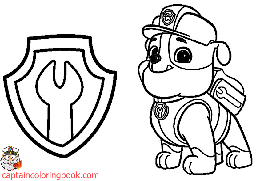 Paw Patrol Coloring Pages Pdf at GetDrawings.com | Free for personal ...