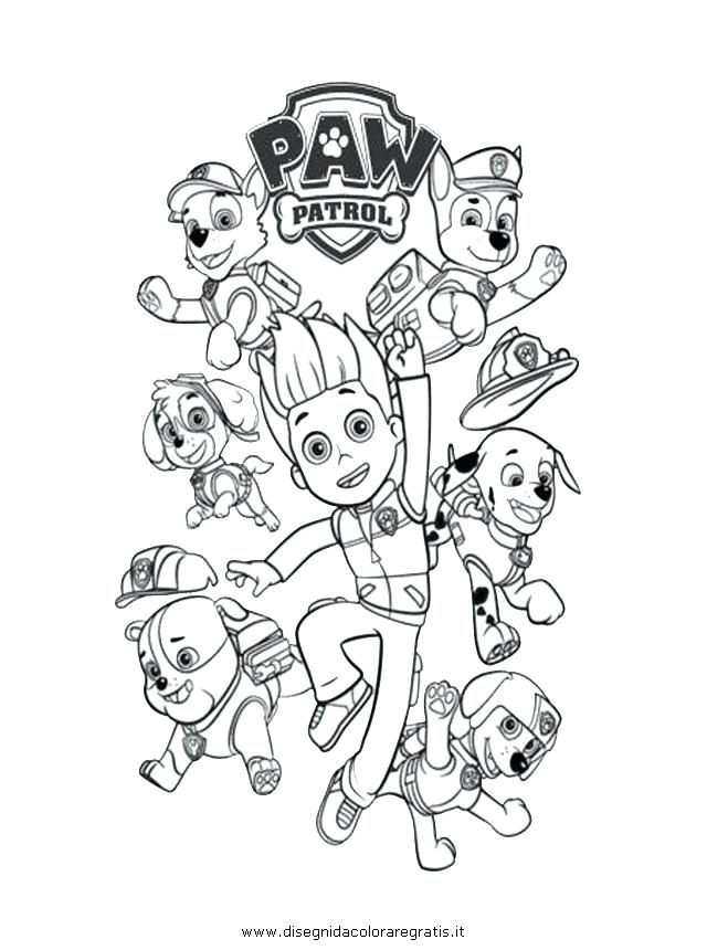 640x860 Paw Patrol Coloring Pages Printable Coloring Page Paw Patrol
