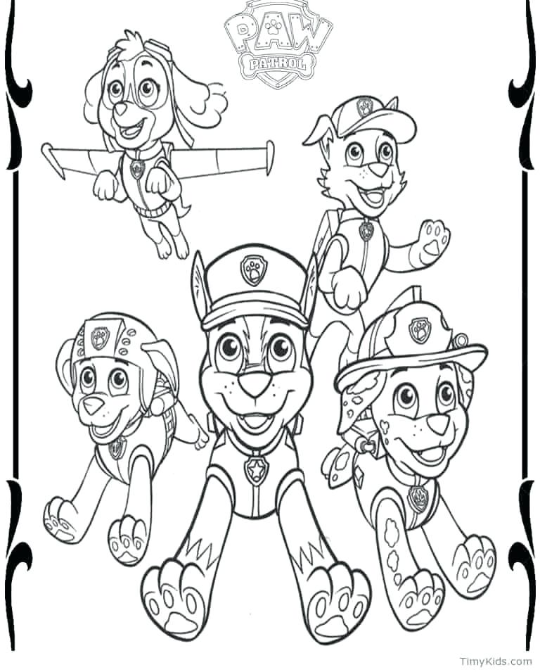 768x955 Paw Patrol Free Coloring Pages Printable Paw Patrol Coloring Pages