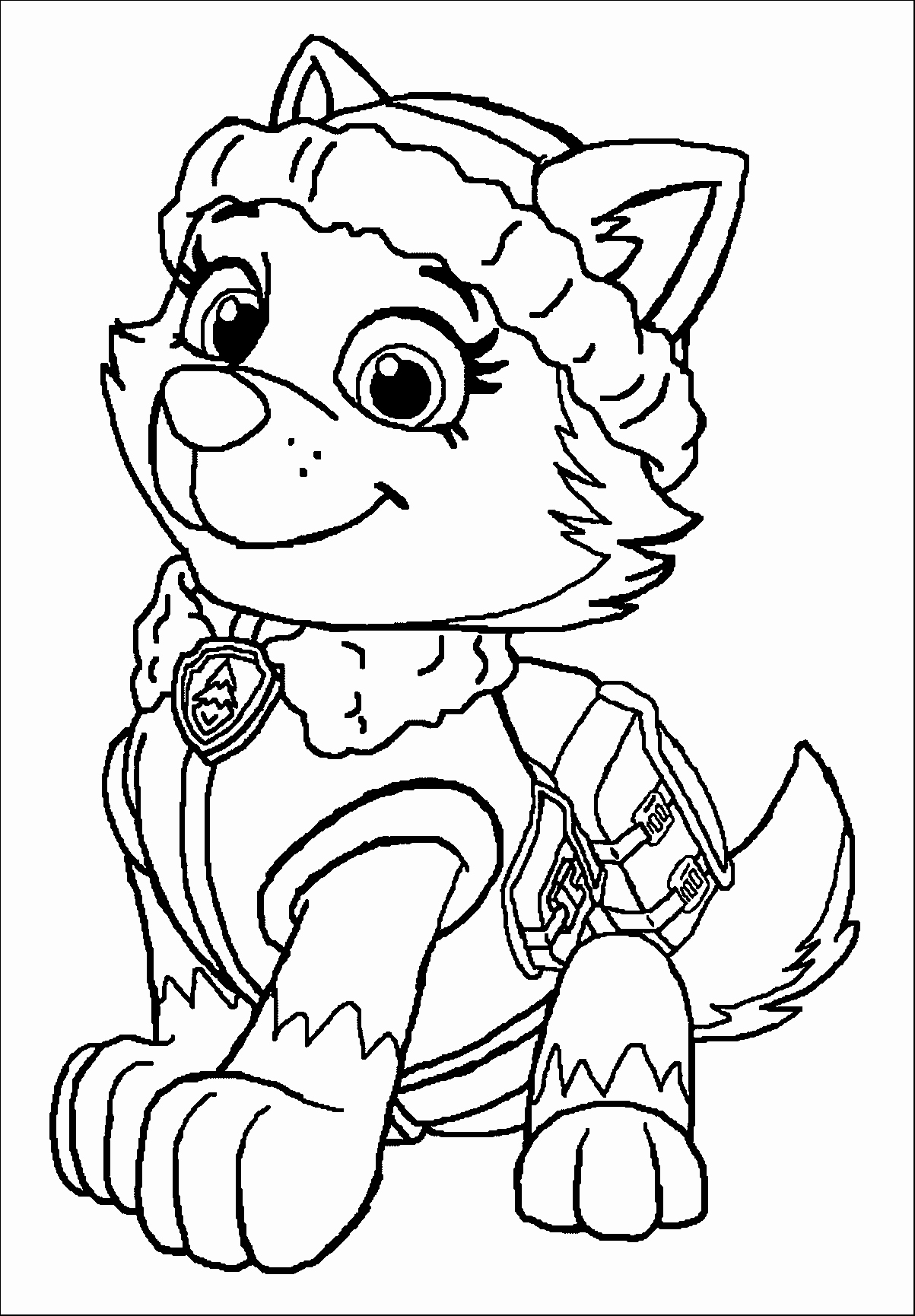 1203x1730 Halloween Color Pages Free Best Of Paw Patrol Coloring Sheets