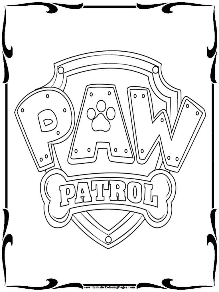 Paw Patrol Printables Coloring Pages