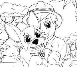 270x236 Paw Patrol Coloring Pages