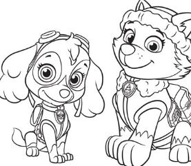paw patrol tracker coloring pages at getdrawings | free download