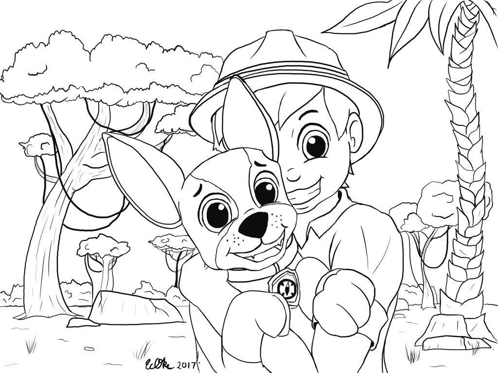 1024x768 Carlos And Tracker Jungle Amigos!