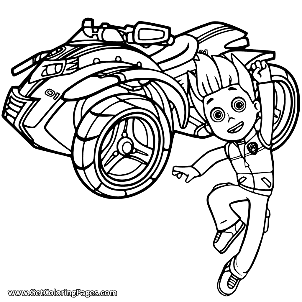 paw patrol vehicles coloring pages at getdrawings  free