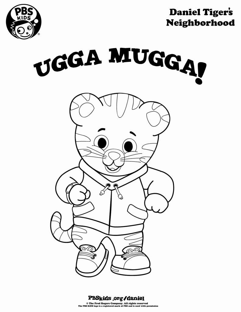 Pbs Coloring Pages