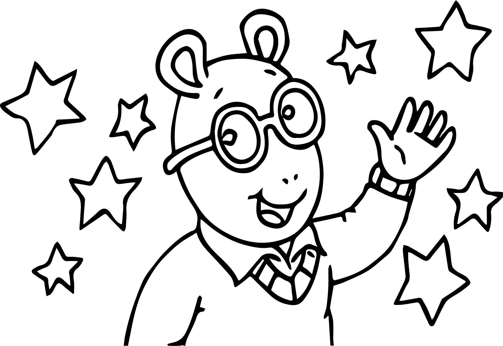 1765x1214 Awesome Arthur Pbs Facebook Coloring Page Wecoloringpage Pic