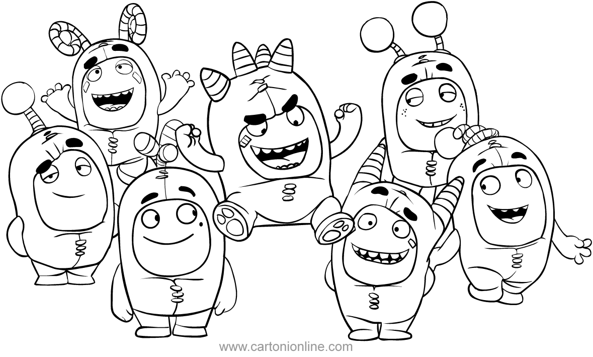 1179x709 Easily Odd Squad Coloring Pages Pbs Kids Badge