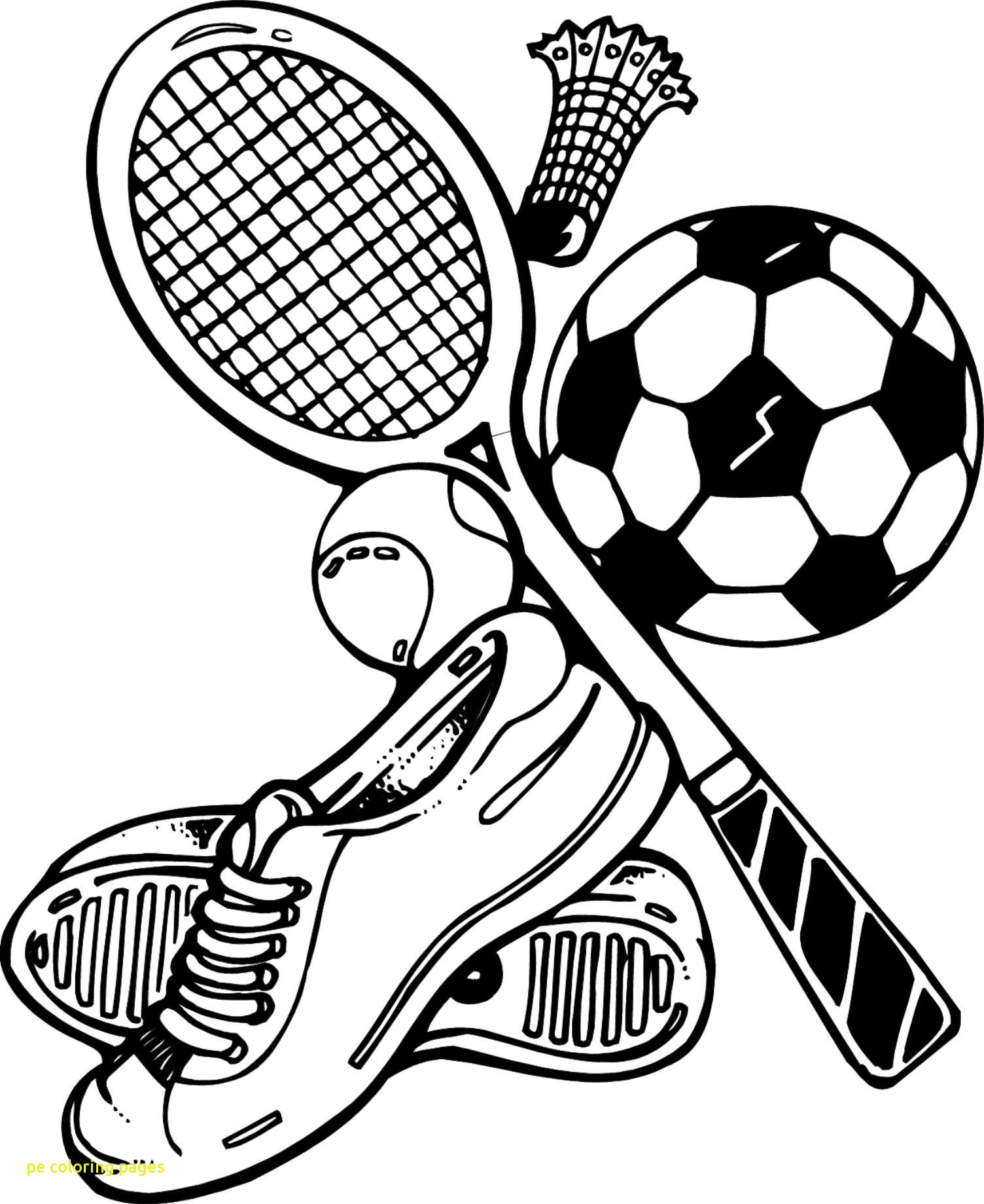 1504x1839 Pe Coloring Pages With Physical Education
