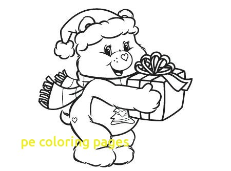 450x334 Pe Coloring Pages With Care Bears Coloring Pages Care Bears