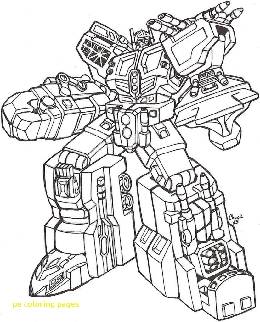 826x1024 Pe Coloring Pages With Unique Transformers Coloring Pages To Print