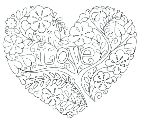 Peace And Love Coloring Pages At Getdrawings Com Free For Personal