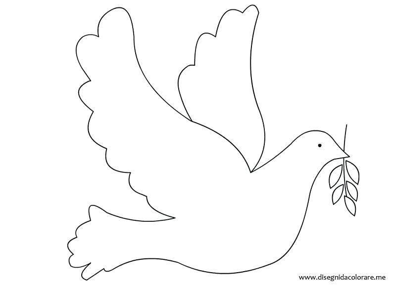 Peace Dove Coloring Page at GetDrawings com | Free for