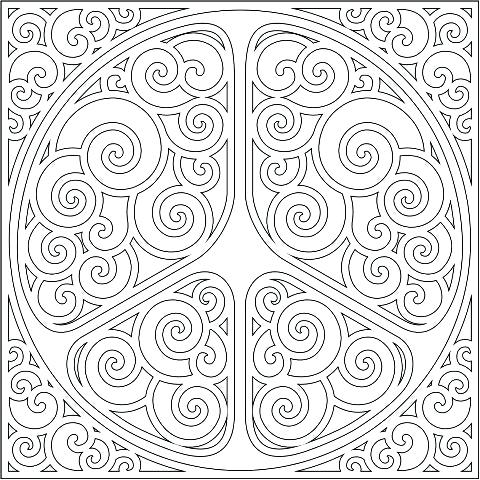 The best free Peaceful coloring page images. Download from ...