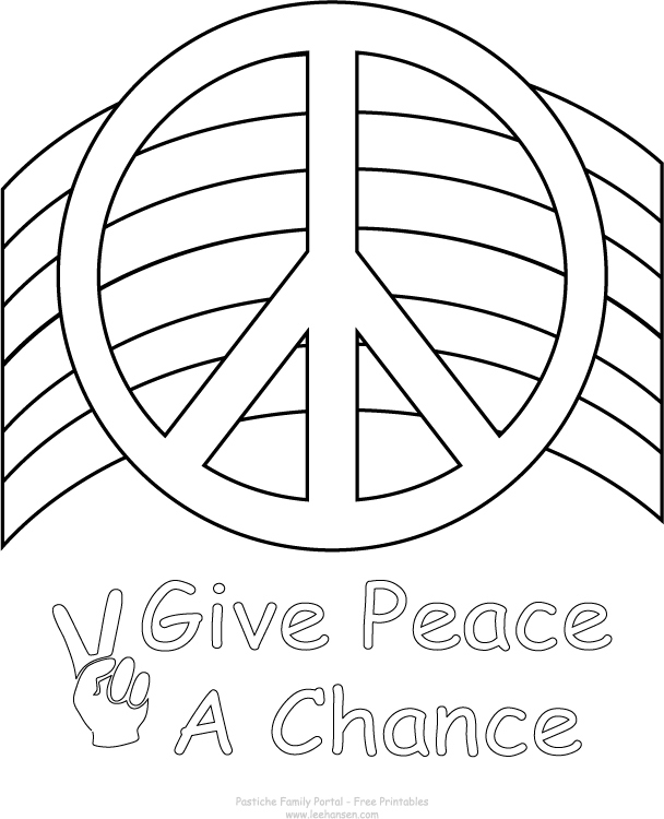 608x750 Peace Sign Coloring Pages Fresh Peace Love Music Symbol Print