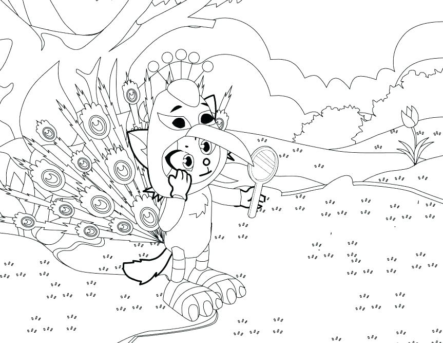 863x667 Peacock Feather Coloring Page Peacock Feather Coloring Page