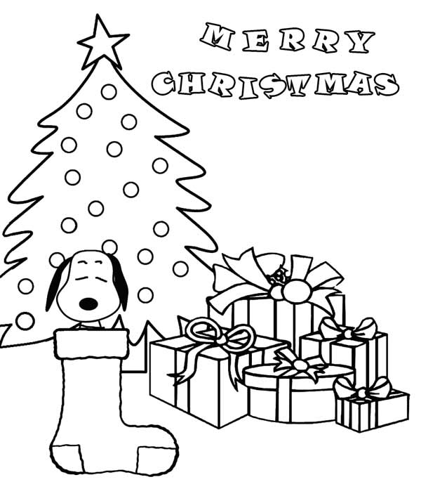 600x696 Christmas Coloring Pages With Snoopy Free Printable Charlie Brown