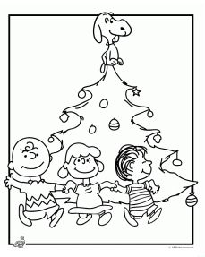 229x287 Free Charlie Brown Christmas Coloring Pages Kids Christmas