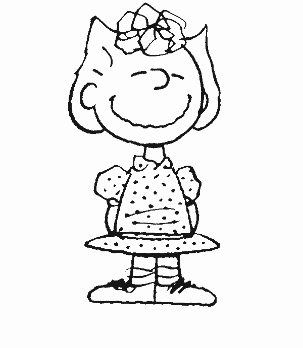 600x691 Peanuts Christmas Coloring Page Printable Coloring Pages Kids