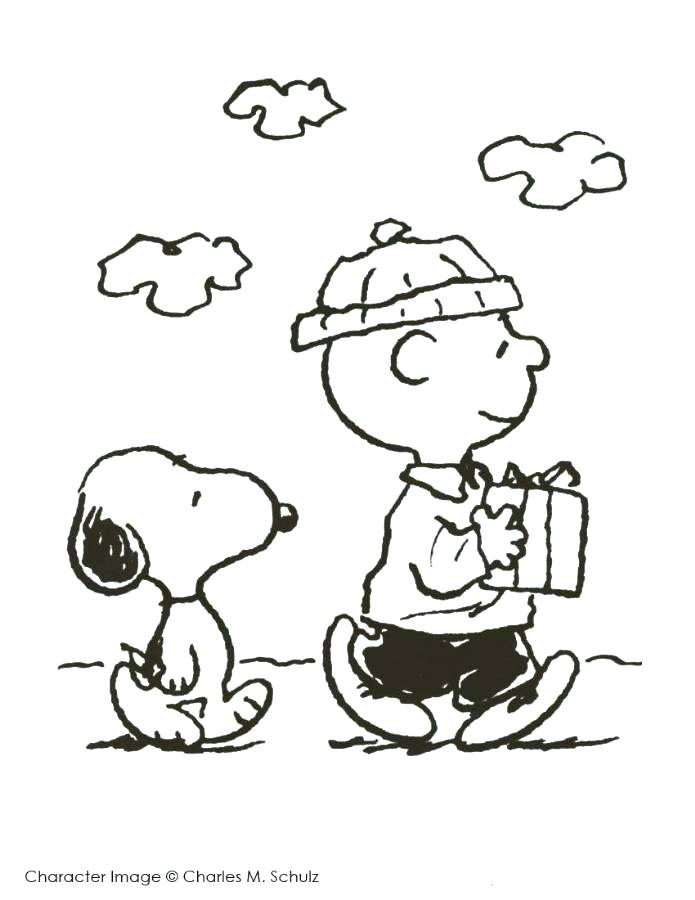 695x900 Peanuts Christmas Coloring Pages Print Charlie Brown And Snoopy