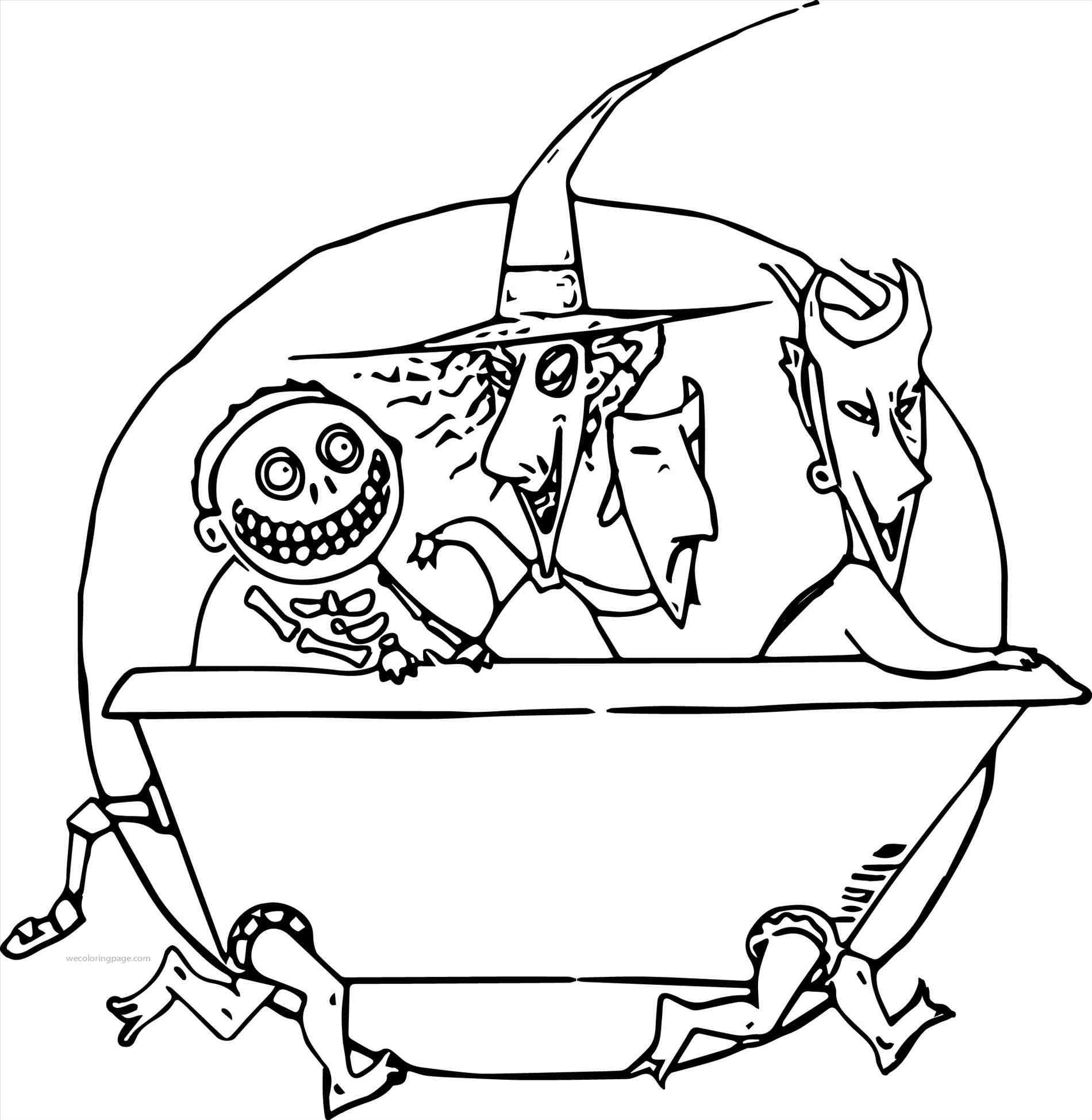 1900x1948 Twas The Night Before Christmas Coloring Pages