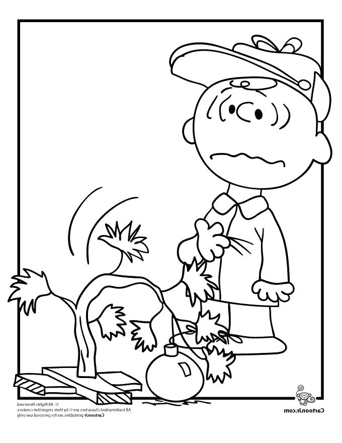 680x880 Peanuts Christmas Coloring Pages
