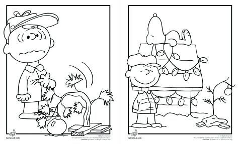 477x287 Peanuts Coloring Book