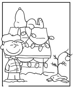 236x281 Charlie Brown Christmas Coloring Pages Color Bros
