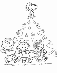 236x302 A Charlie Brown Christmas Coloring Pages Peanuts Gang Christmas