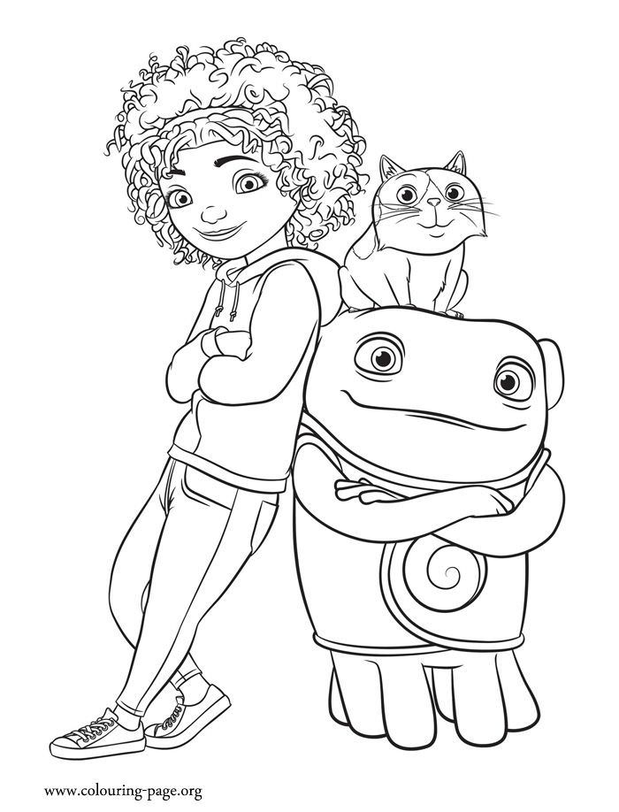 700x918 Home Movie Coloring Pages