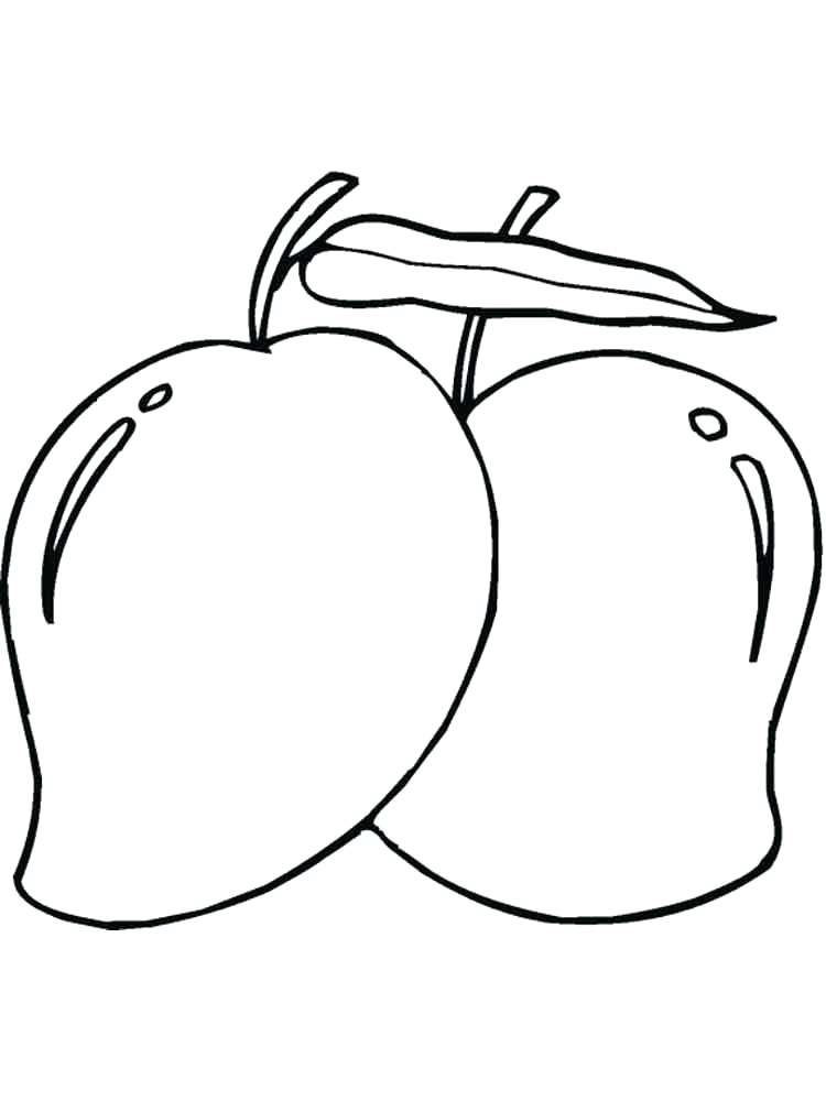 750x1000 Pear Coloring Page P Is For Pear Coloring Page Small Pear Coloring