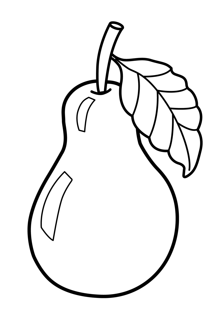 900x1258 Unique Fruit Coloring Pages For Toddlers Gallery Printable