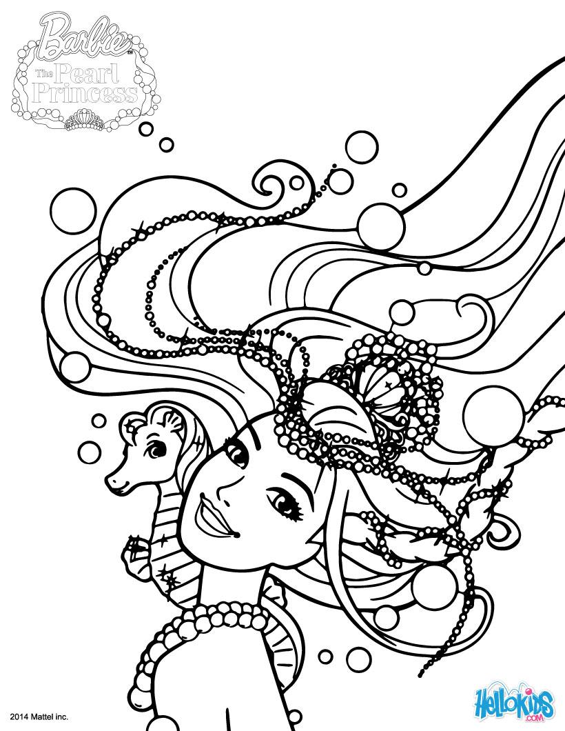820x1060 Mermaid Lumina Coloring Pages