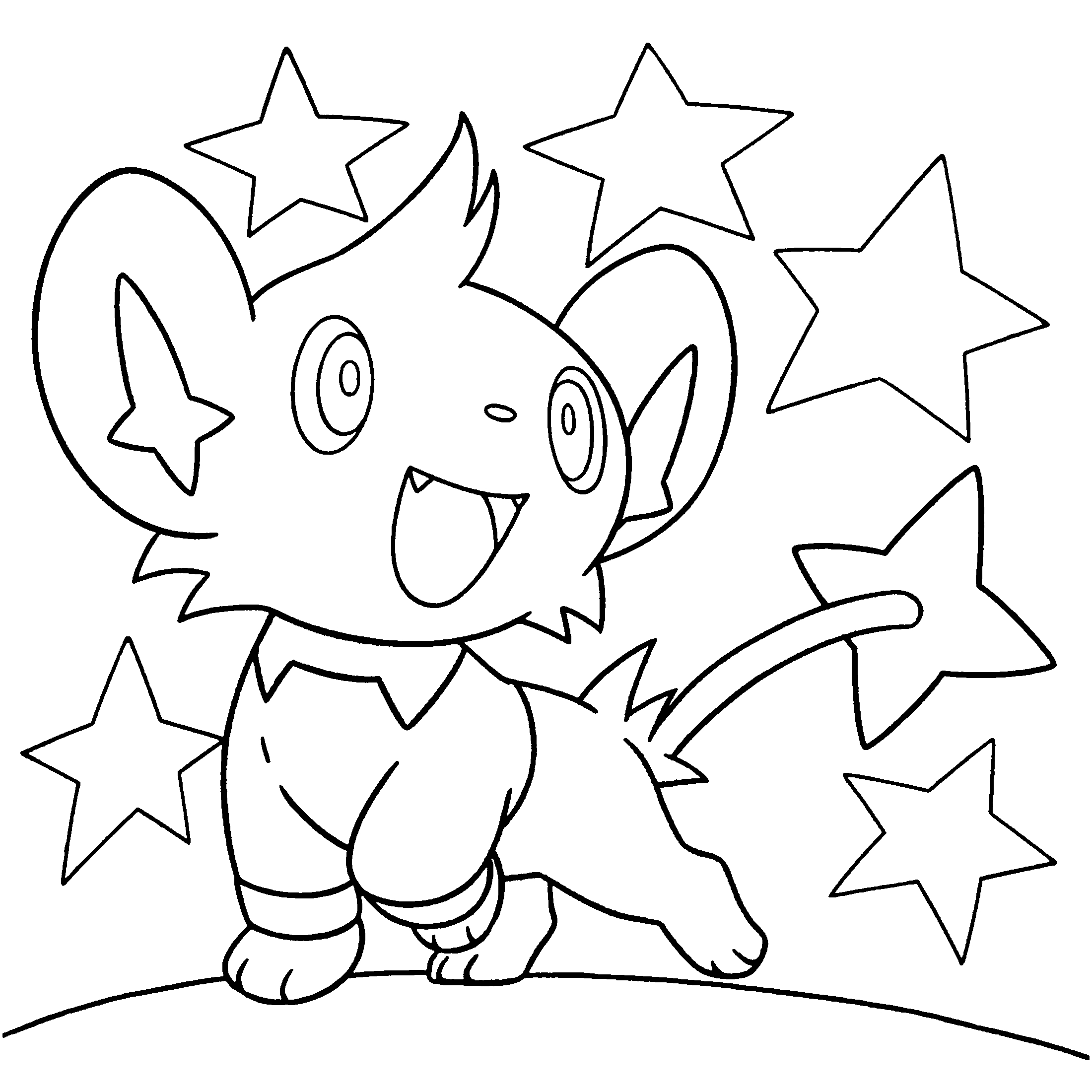 2200x2200 Pokemon Diamond Pearl Coloring Pages Free