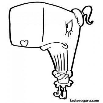 338x338 Printable Cartoon Spongebob Pearl Coloring Pages
