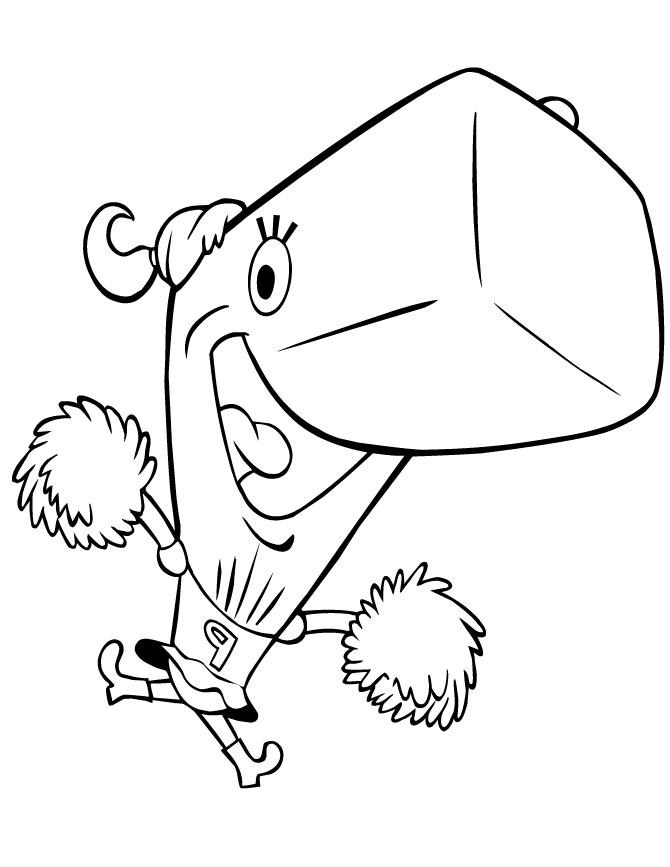 670x867 Spongebob Coloring Pages Pearl