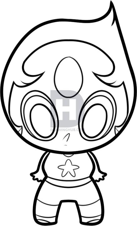 438x720 Steven Universe Pearl Drawing