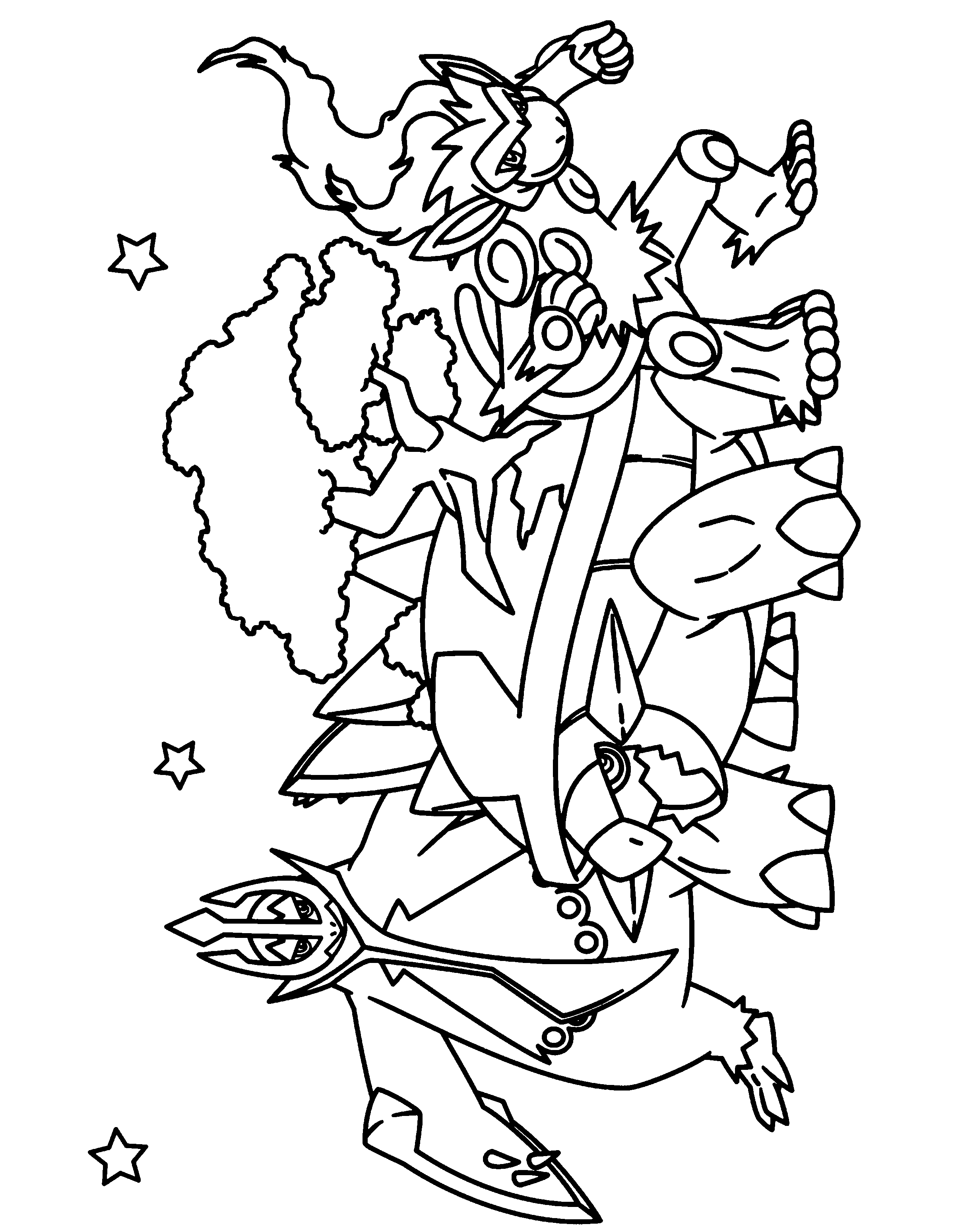 2400x3100 Coloring Page Tv Series Coloring Page Pokemon Diamond Pearl