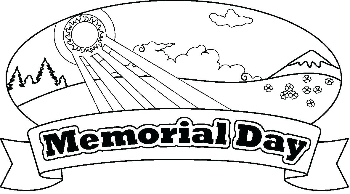 1182x655 Memorial Day Coloring Pages Beginning Of For Pearl Harbor