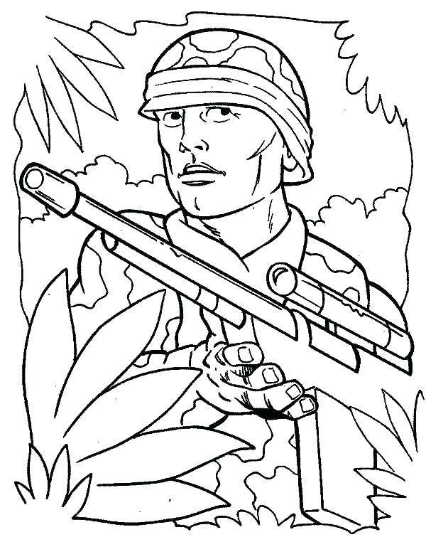 600x762 Soldier Coloring Pages Soldier Coloring Pages Soldier Coloring