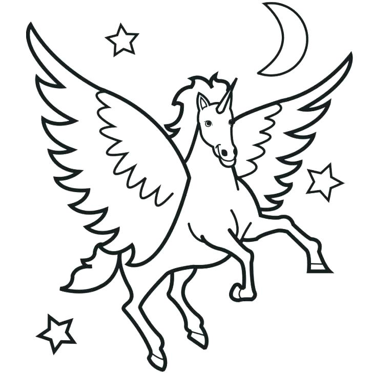 728x728 Pegasus Coloring Pages Coloring Page This Is Coloring Page