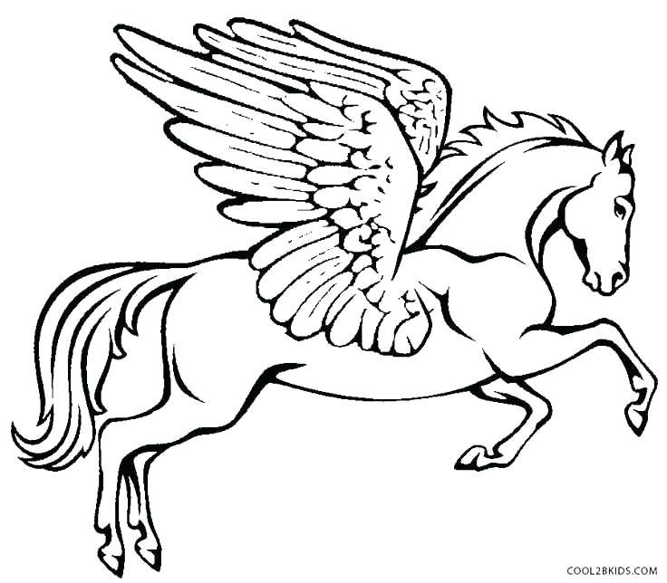 736x644 Pegasus Coloring Pages Reduced Coloring Pages Minimalist Page Fee