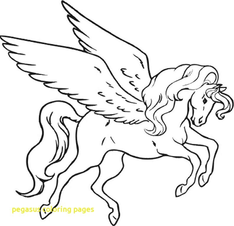 795x768 Pegasus Coloring Pages With Coloring Pages Pegasus