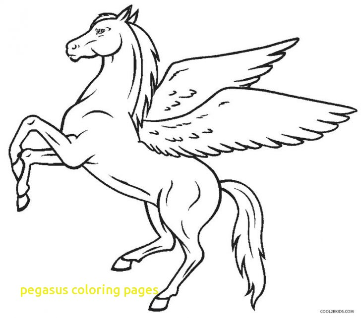 728x642 Pegasus Coloring Pages With Pegasus Coloring Page