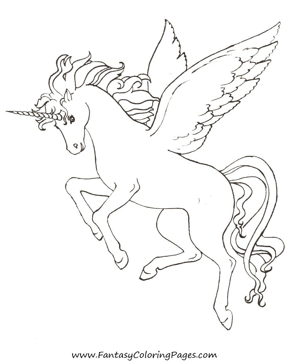 960x1200 Free Coloring Pages Pegasus And Unicorns Stencils