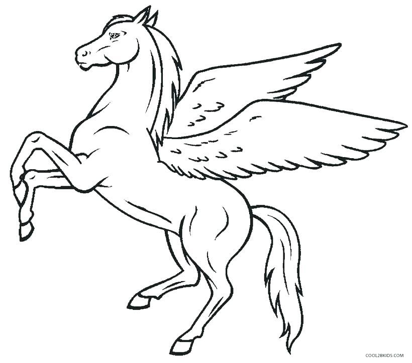 820x723 Pegasus Coloring Page Coloring Pages Pegasus Coloring Pages